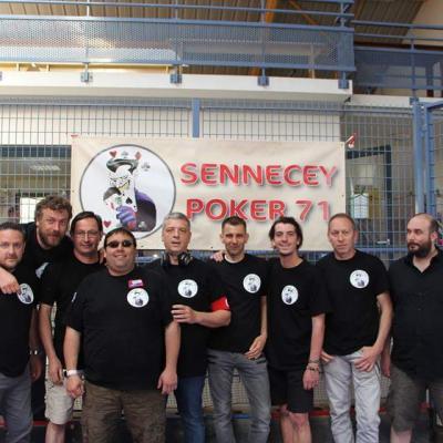 photo de notre équipe pour la première manche du championnat par équipes à domicile