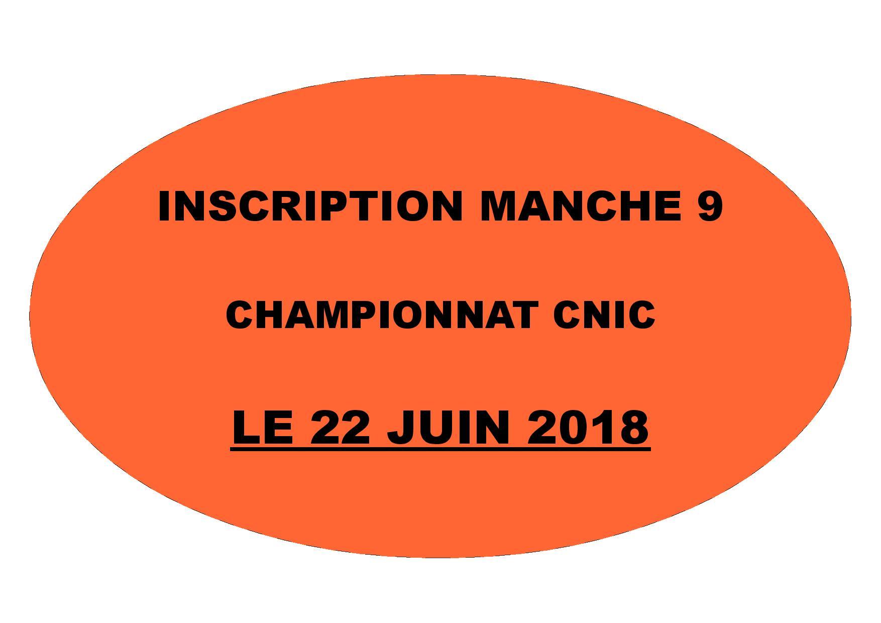 INSCRIPTION MANCHE 09